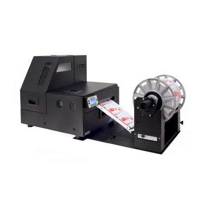 Afinia L801/L801 Plus Color Label Printer with Optional L801/L801 Plus Rewinder (Part# 23125)