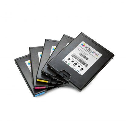 Full Set of CMYKK Afinia L801 Memjet™ Ink Cartridges (22453, 22467, 22474 & 22460)