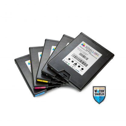 Full Set of CMYKK Afinia L801 Plus Watershield™ Memjet™ Ink Cartridges (30412, 30426, 30433 & 30419)