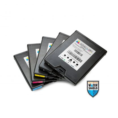 Full Set of CMYKK Afinia L901 Plus/CP950 Plus Watershield™ Memjet™ Ink Cartridges (30461, 30454, 30447 & 30440)