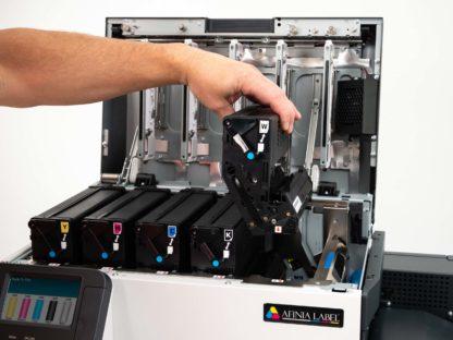 Afinia LT5C Label Printer Toner Installation