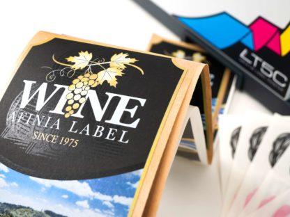 Afinia LT5C Sample Wine Bottle Label