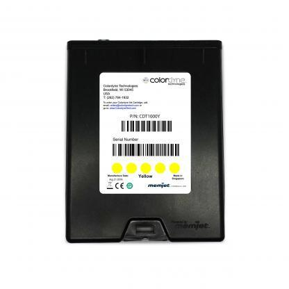 Colordyne 1600 Series Memjet™ Yellow Ink Cartridge (CDT1000Y16)