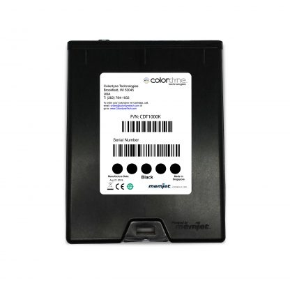 Colordyne 1800 Series Memjet™ Black Ink Cartridge (CDT1000K18)