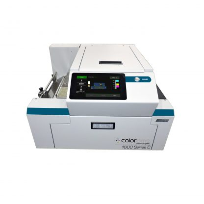 Colordyne 1800 Series C (1800-C) Color Label Printer features a Full-Color 7-inch Touchscreen LCD
