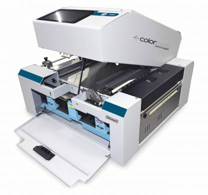 Colordyne 1800 Series C (1800-C) Color Label Printer features the Memjet™ Sirius Print Engine enabling mid-job print head maintenance without breaking the web