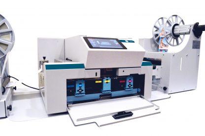 Colordyne 1800 Series C Label Printer features (5) 250 mL CMYKK Memjet™ VersaPass G Dye Ink (1.25 L total)
