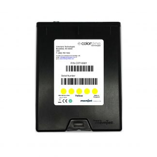 Colordyne 1800 Series Memjet™ Yellow Ink Cartridge (CDT1000Y18)