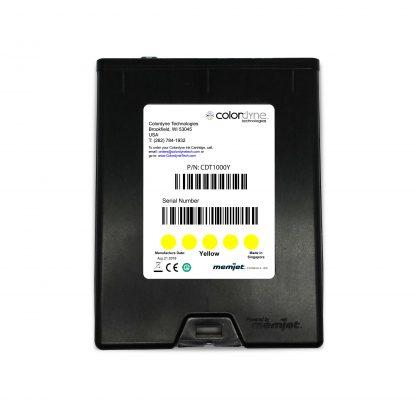 Colordyne 1800 Series Memjet™ Yellow Ink Cartridge (CDT1000Y18)