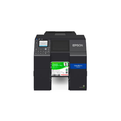 Epson ColorWorks C6000P Color Label Printer with 4-inch Peel-and-Present