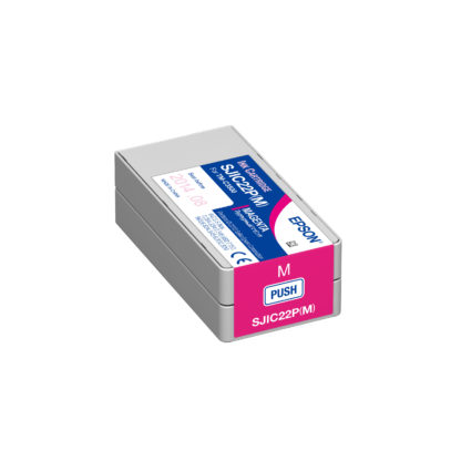 Epson ColorWorks C3500 DURABrite® Magenta Ink Cartridge SJIC22P(M) (C33S020582)