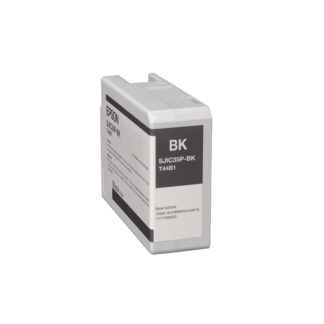 Epson ColorWorks C6000 & Epson ColorWorks C6500 UltraChrome® DL Black Ink Cartridge SJIC35P(K) (C13T44B120)
