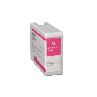 Epson ColorWorks C6000 & Epson ColorWorks C6500 UltraChrome® DL Magenta Ink Cartridge SJIC35P(M) (C13T44B320)
