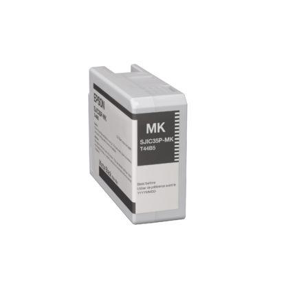Epson ColorWorks C6000 & Epson ColorWorks C6500 UltraChrome® DL Matte Black Ink Cartridge SJIC35P(MK) (C13T44B520)