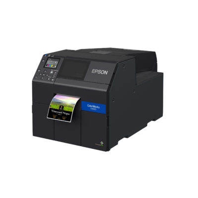 Epson ColorWorks C6000A Inkjet Color Label Printer with Auto Cutter