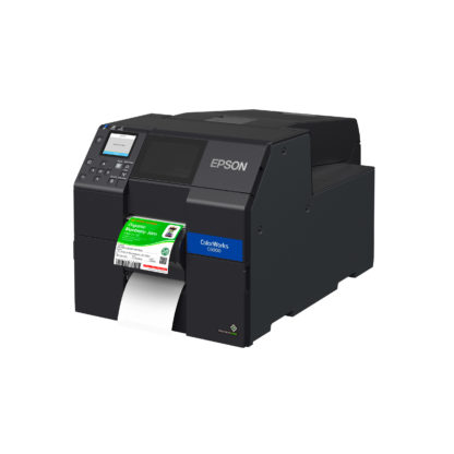 Epson ColorWorks C6000P Color Inkjet Label Printer with Peel-and-Present