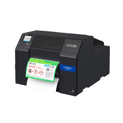 Epson ColorWorks C6500P Color Inkjet Label Printer with Peel-and-Present
