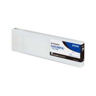 Epson ColorWorks C7500 DURABrite® Black Ink Cartridge SJIC26P(K) (C33S020614)