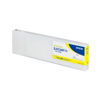 Epson ColorWorks C7500 DURABrite® Yellow Ink Cartridge SJIC26P(Y) (C33S020617)