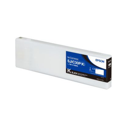 Epson ColorWorks C7500G UltraChrome® DL Black Ink Cartridge SJIC30P(K) (C33S020635)