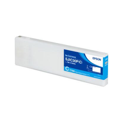 Epson ColorWorks C7500G UltraChrome® DL Cyan Ink Cartridge SJIC30P(C) (C33S020636)