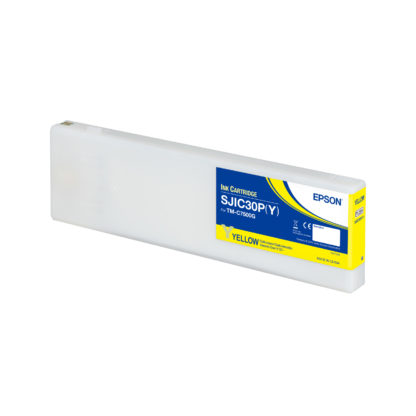 Epson ColorWorks C7500G UltraChrome® DL Yellow Ink Cartridge SJIC30P(Y) (C33S020638)