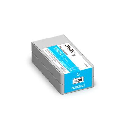 Epson ColorWorks C831 DURABrite® Cyan Ink Cartridge GJIC5(C) (C13S020564)
