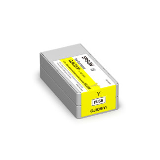Epson ColorWorks C831 DURABrite® Yellow Ink Cartridge GJIC5(Y) (C13S020566)