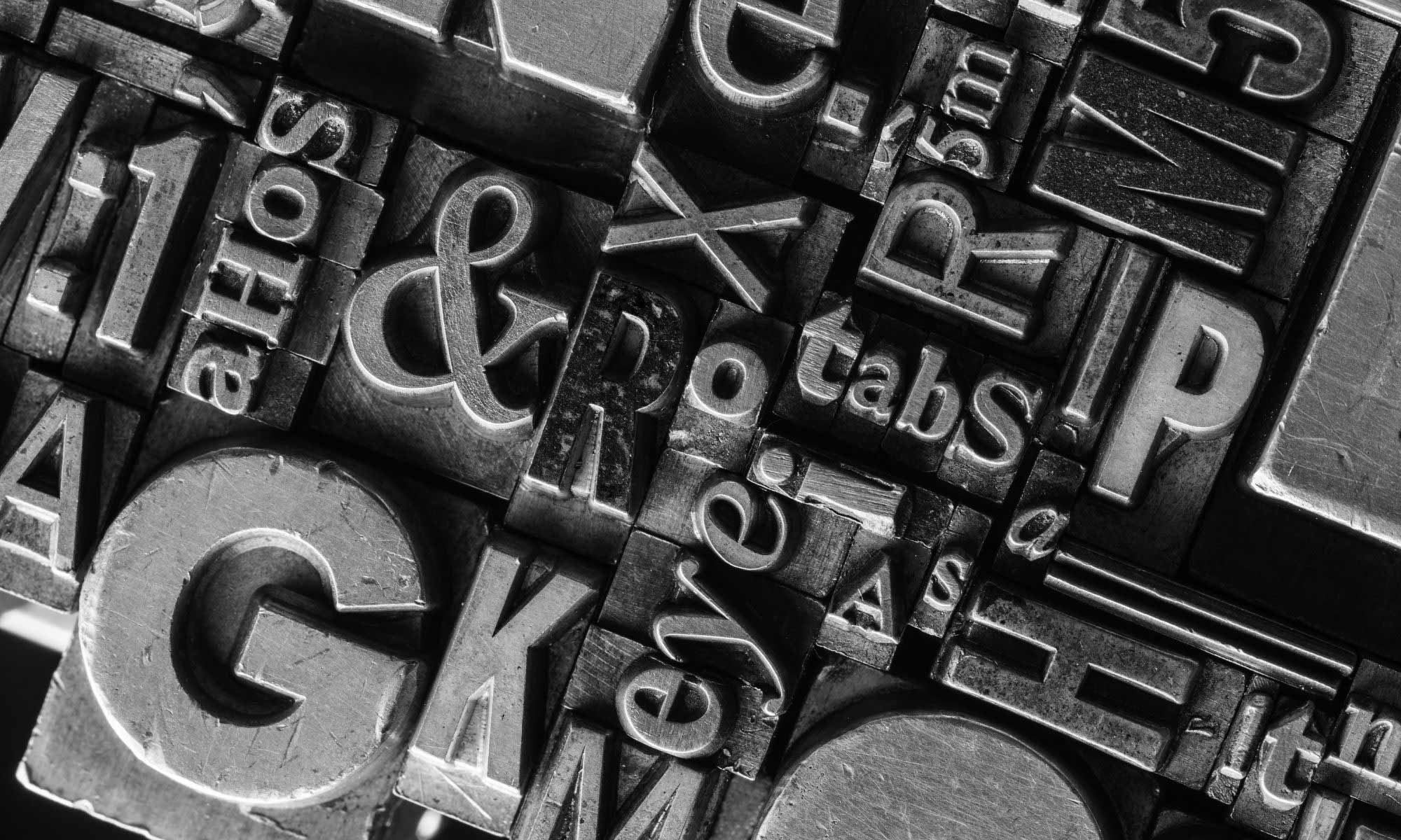 Tips for Choosing Label Typography