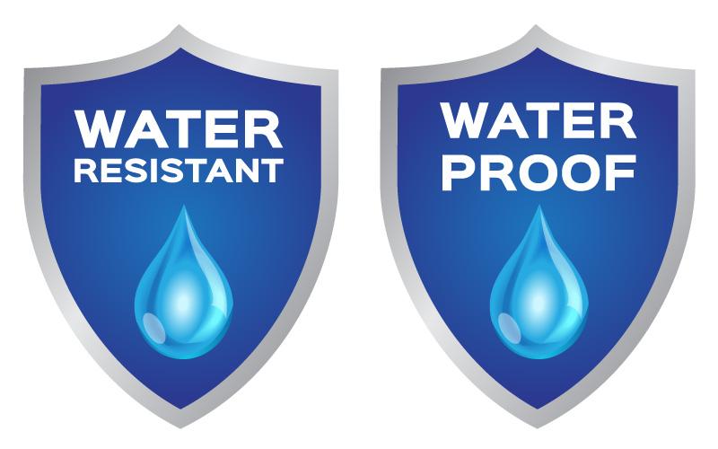 Waterproof Labels vs. Water-Resistant Labels