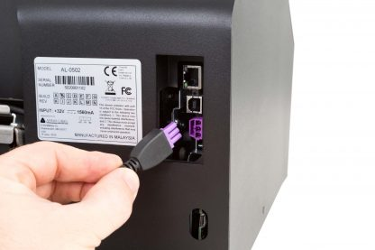 Afinia L502 Label Printer Power & Connectivity Ports