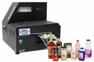 Color Label Printer for Bottles