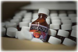 Cannabis Oil Bottle Labels