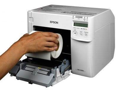 Epson ColorWorks C3500 Blank Roll Installation