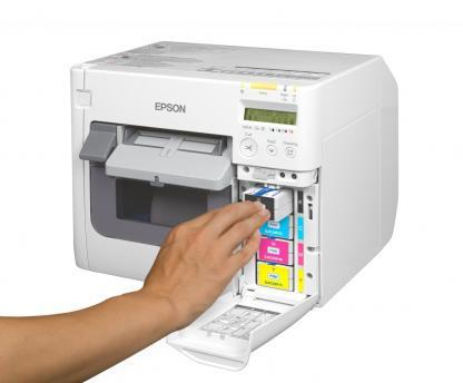 Epson ColorWorks C3500 Cartridge Installation