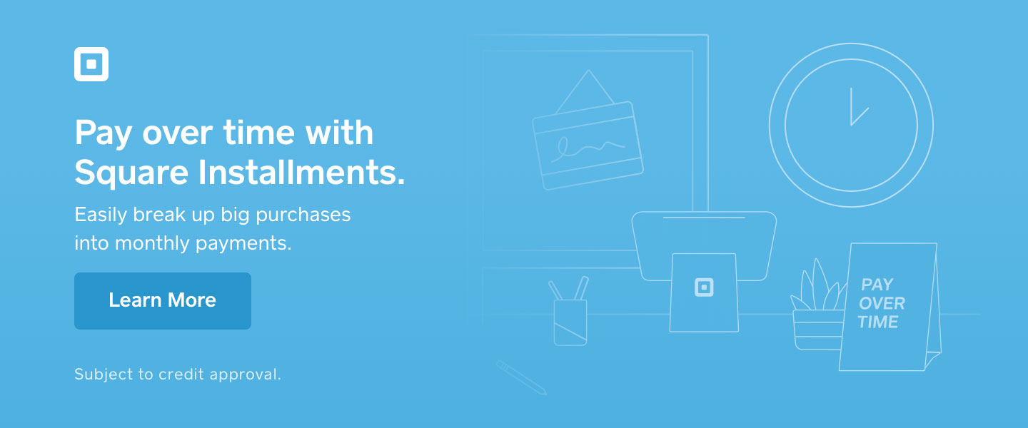Pay Over Time - Apply for Square Installments