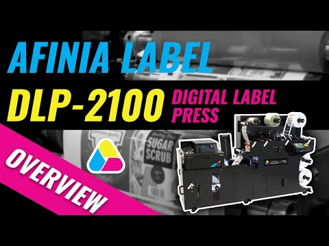 Digital Label Press - Afinia Label DLP-2100 Quick Look