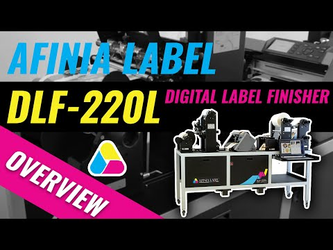 Afinia Label DLF-220L Digital Label Finisher