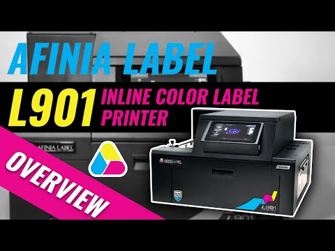 L901 Inline Color Label Printer - Afinia Label