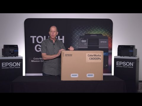 ColorWorks Label Printers | CW-C6000 Series Unboxing and Setting Up