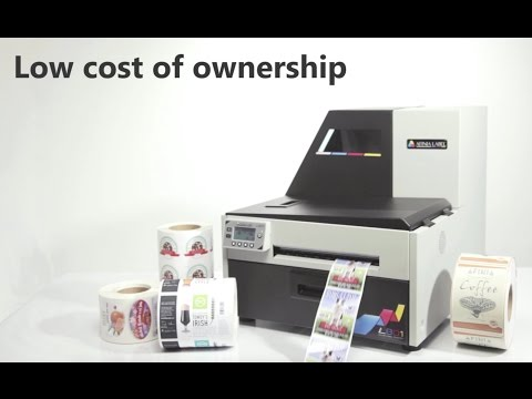 Afinia Label L801 Color Label Printer Overview