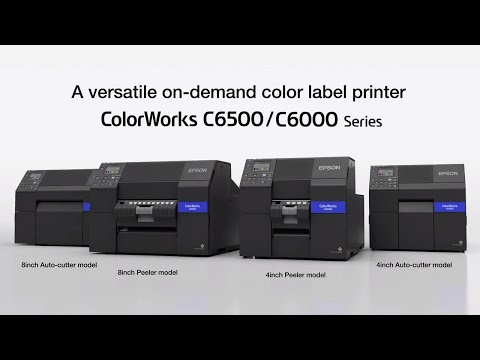 ColorWorks C6000 Series: On-Demand Color Label Printers | Take the Tour